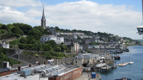 The pretty east Cork town of Cobh