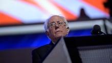 Bernie Sanders savaged Republican candidate Donald Trump
