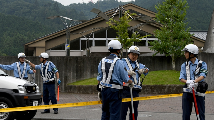 19 killed in knife attack in Japan