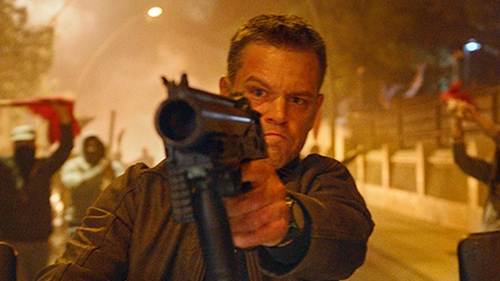 Matt Damon stars as Jason Bourne
