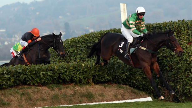 JT McNamara on board eventual winner Spot The Difference at Cheltenham