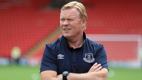 Koeman and Jagielka among Everton party to visit stricken Coleman in Ireland