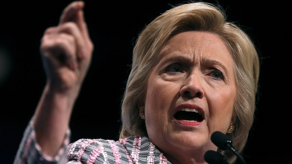 Hillary Clinton is the first woman presidential nominee of a major US party
