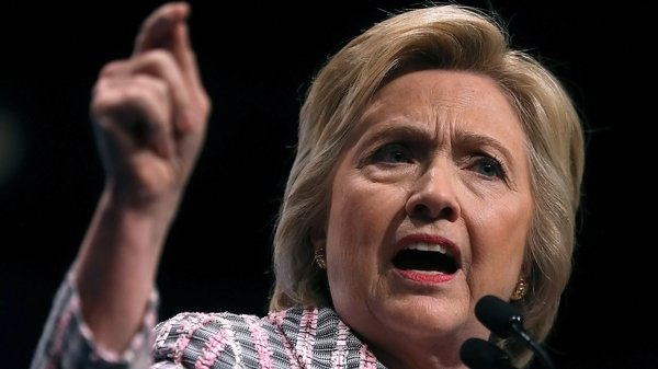 Speaking to gay rights supporters Hillary Clinton said that those people are 'irredeemable, but thankfully they are not America'