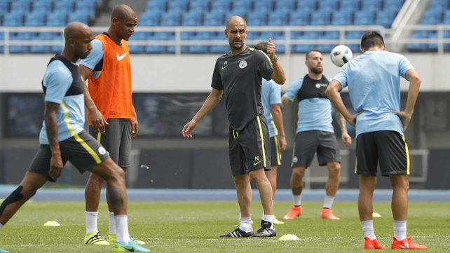 Guardiola gets tough on overweight players