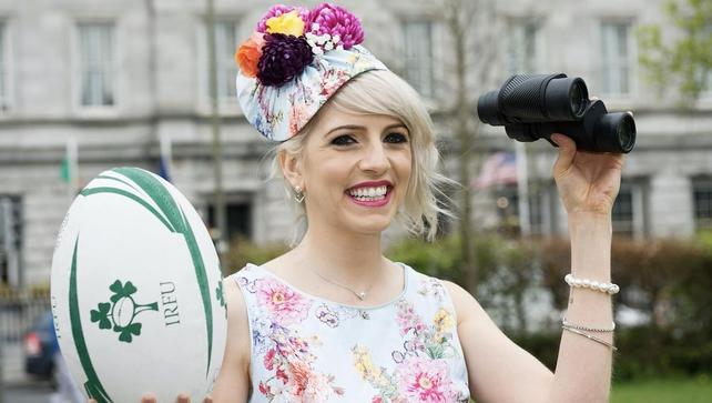 Galway Races Ladies Day Máire Treasa Ní Dhubhghaill