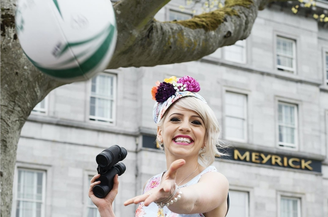 Máire Tressa balances her passion for both fashion and sport