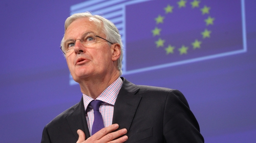 Michel Barnier held out the promise of a comprehensive free trade agreement (FTA) after Britain leaves the bloc in March 2019 if it settles divorce issues including its exit bill and the border with Northern Ireland