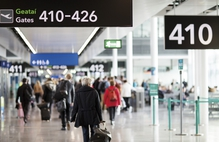 Passenger numbers for the August bank holiday are up 10 per cent over the same weekend last year.