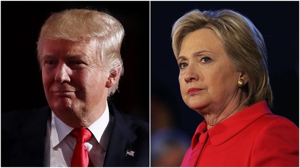 Trump attacks Clinton over Denis O'Brien links
