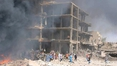 Truck bomb blast kills dozens in northeast Syria