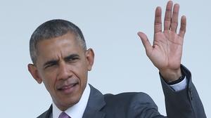 Barack Obama addressed the Democratic National Convention in Philadelphia