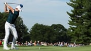 Rory McIlroy in action at the PGA Championship