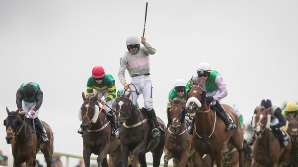 Mullins picked up the Galway Hurdle with Clondaw Warrior