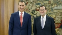 King Felipe VI asked acting prime minister Mariano Rajoy to try to form a government