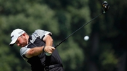 Shane Lowry is in action in the afternoon session at Baltusrol
