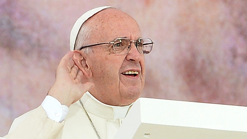 """""""The demands of the day and the privilege of the office have left Pope Francis largely unchanged"""""""