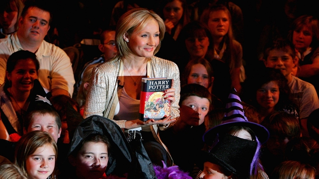 JK Rowling's Harry Potter first editions can fetch a couple hundred euro.