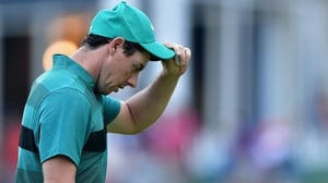 Rory McIlroy missed the cut at Baltusrol by a single shot