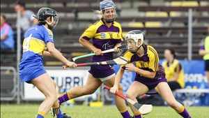 Kate Kelly (R) was the hero for Wexford