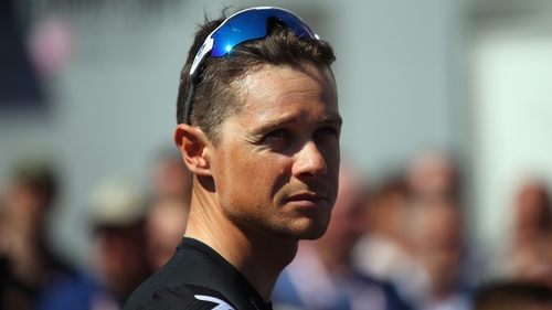 Nicolas Roche competes for Ireland in Austria this week