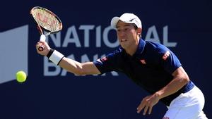 Kei Nishikori won 7-6 6-1