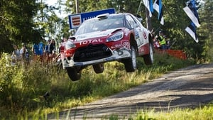 Kris Meeke and Paul Nagle in their Citroen DS3 WRC