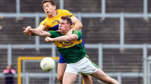 Mark Griffin in action against Clare