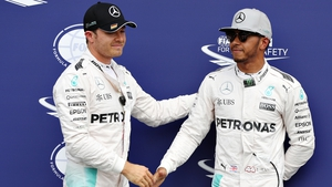 Rosberg has been rapidly overhauled by team-mate Hamilton in the standings