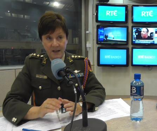 The Defence Forces - Maureen O'Brien