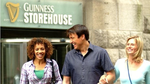 The Guinness Storehouse is the top magnet for visitors, with almost 1.5 million last year.