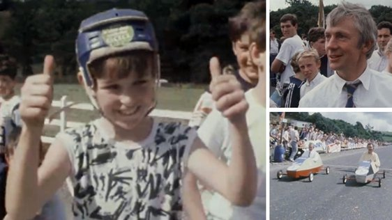 Soap Box Derby in New Ross (1986)