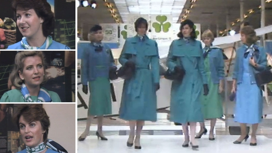 New Aer Lingus Uniforms (1986)