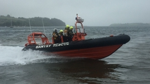 Bantry's Community Rescue Boat team taking part in a training exercise