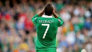 Aiden McGeady made his point to Preston fans