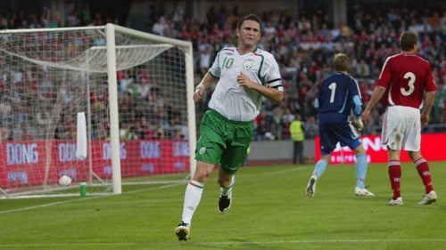Ireland jersey meant most to Robbie Keane