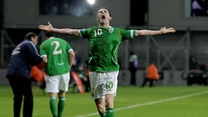 Robbie Keane will make a final Irish appearance tonight