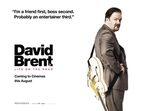 David Brent: Life on the Road goes on release on August 19th