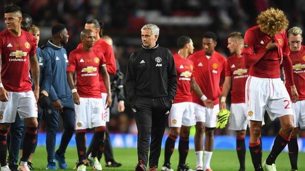 Jose Mourinho is hoping to finsih his first season in charge on a high