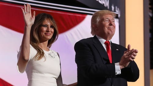 Melania Trump became a US citizen in 2006, a year after she married New York billionaire Donald Trump