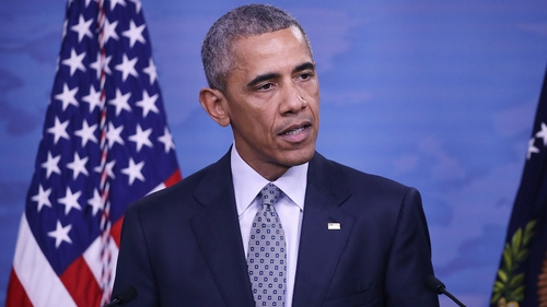 Barack Obama said the money was to settle a dispute over arms contracts