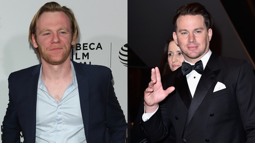 Gleeson and Tatum - New heist movie is set during a NASCAR race