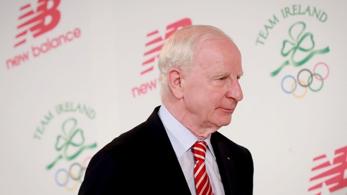 Pat Hickey, President of the OCI