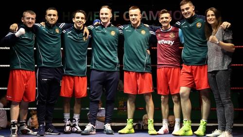 reland's 2016 Rio Boxing Team (L-R): Paddy Barnes, David Oliver Joyce, Michael Conlan, Michael O'Reilly, Steven Donnelly, Brendan Irvine, Joe Ward and Katie Taylor