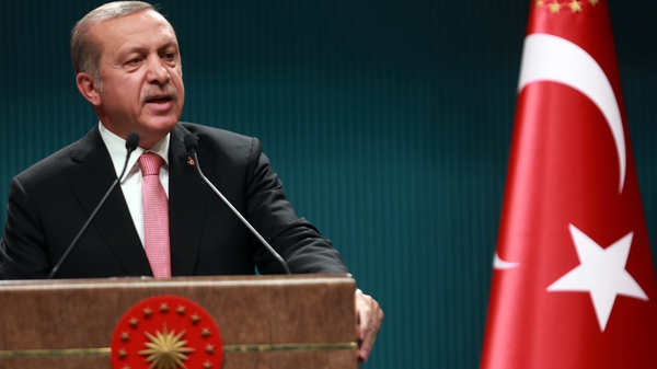 Recep Tayyip Erdogan has accused the West of supporting the plotters of the failed coup