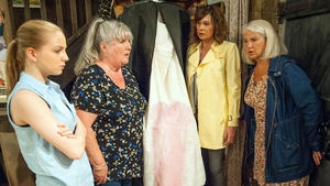 Disaster strikes ahead of Zak and Joanie's wedding