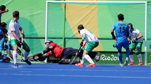 Ireland fought hard for a late equaliser but India held on for the win