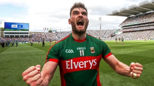Aidan O'Shea will wear the number 11 jersey on Sunday