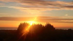 Sunrise in Wicklow (Pic: Orla Madden)