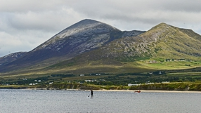Croagh Patrick pictured from Old head beach (Pic: Eddie Kent)